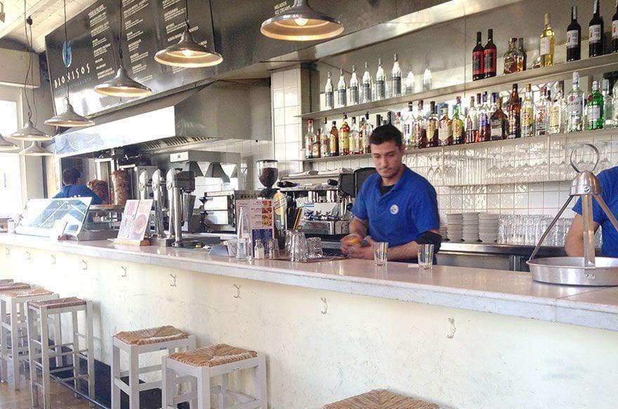 restaurante griego dionisios barcelona