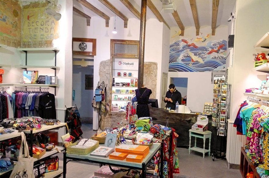 Olokuti nueva tienda Barrio Gótico Barcelona