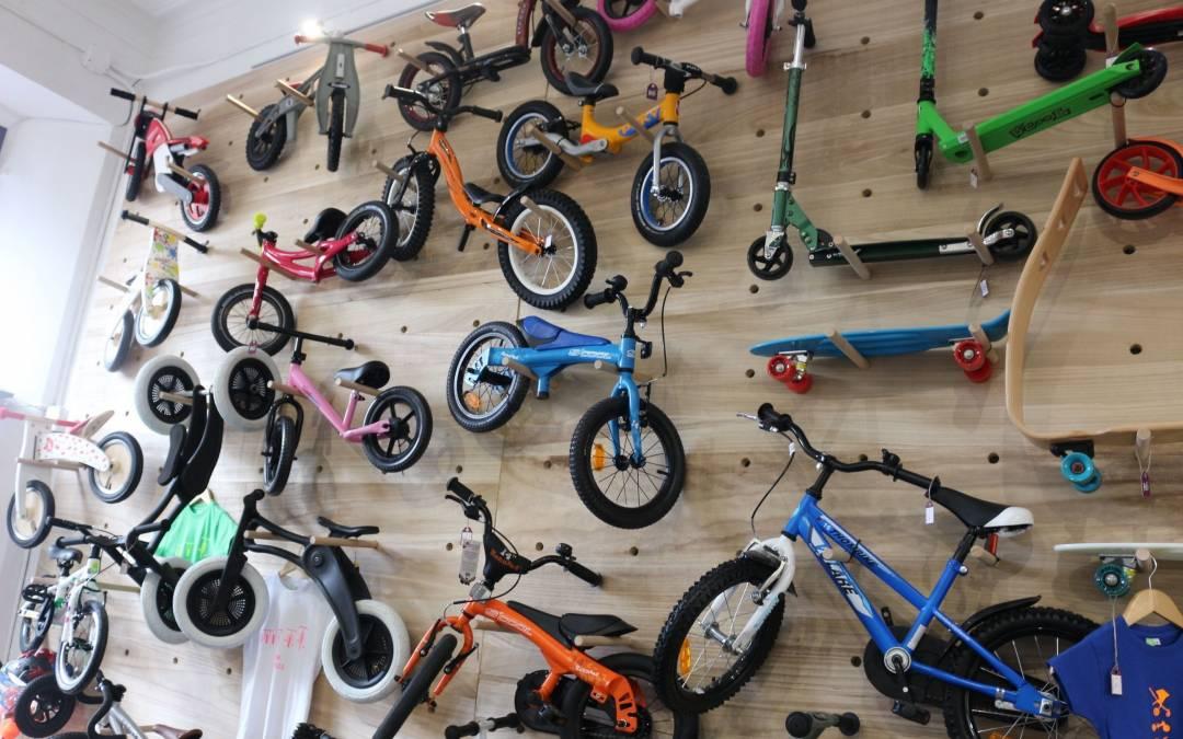 Kids on wheels, bicicletas para niños