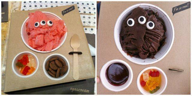 EYES CREAM. Una gelateria molt original de Barcelona
