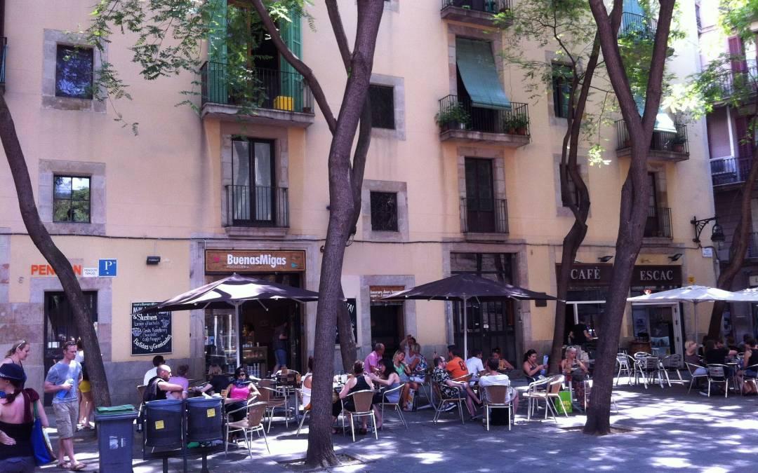 Restaurante terraza, Buenas Migas en el gótico.