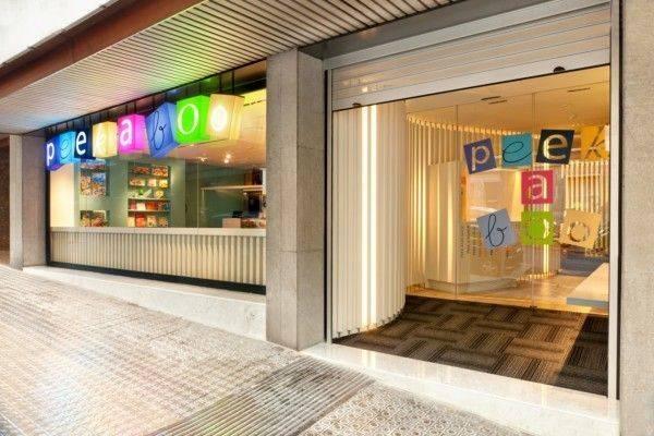 Peek a Boo, el parque infantil más bonito de Barcelona