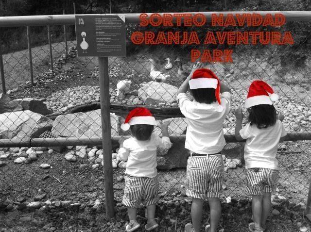 Navidad en Granja Aventura Park. Súper sorteo.
