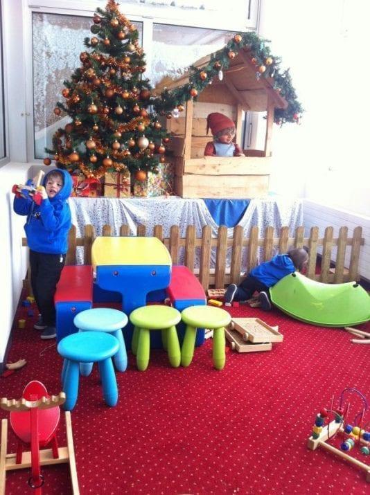 Viaje con niños a conocer a Papá Noel