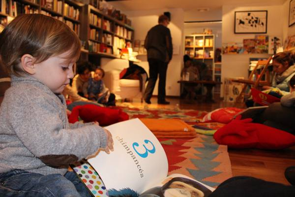 Tulabooks y Club de lectura para bebes