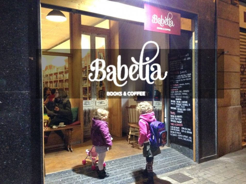 babelia books and coffee Barcelona