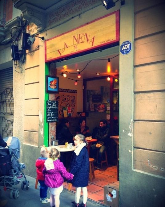 La Nena: the best chocolate with churros of Gràcia