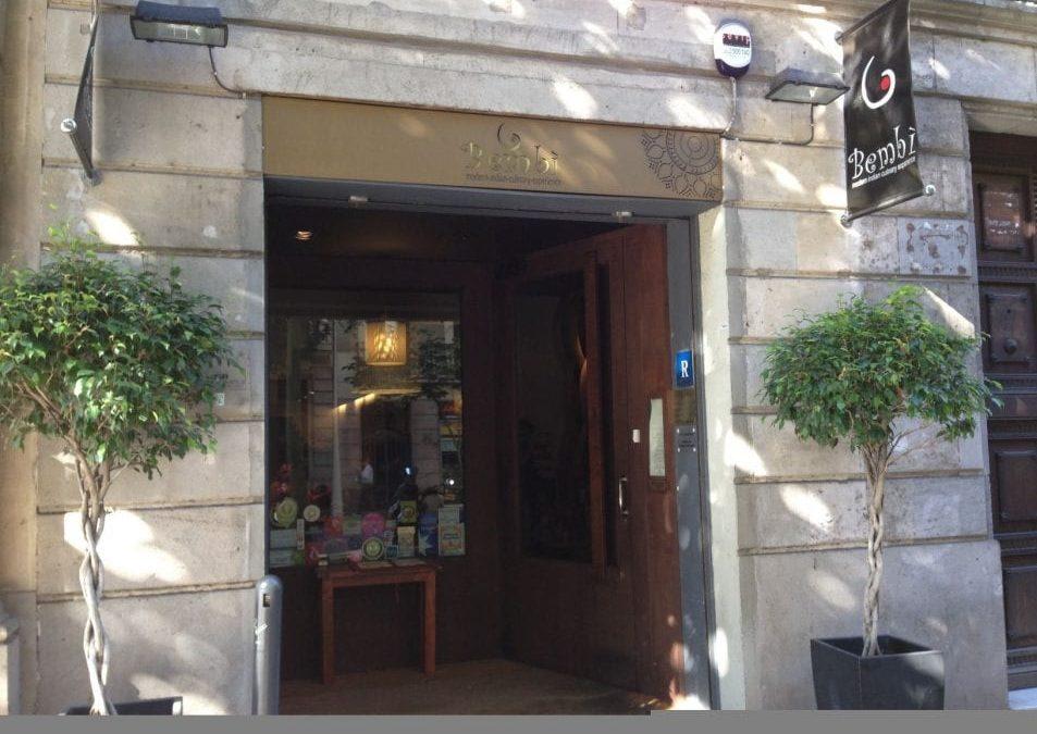 Indian restaurant Bembi, modern indian cuisine in Barcelona