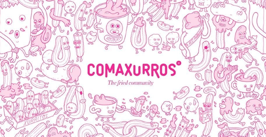 Comaxurros, the new churrería of Canals bakery