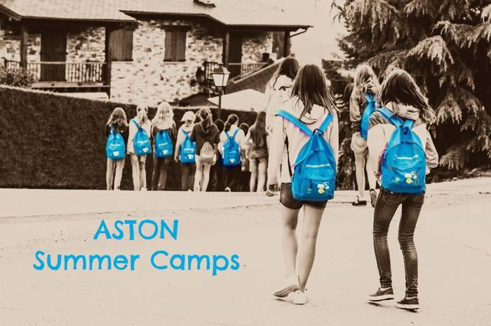 Aston, campaments d'estiu a la Cerdanya i Mallorca.
