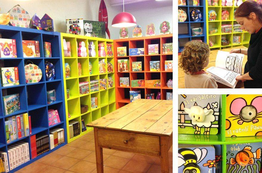 Llibreria infantil i per adults La Caixa d'eines.