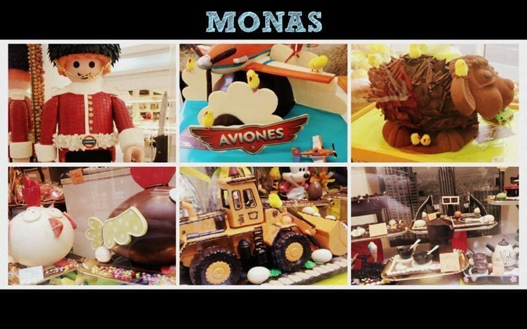 Mona de chocolate