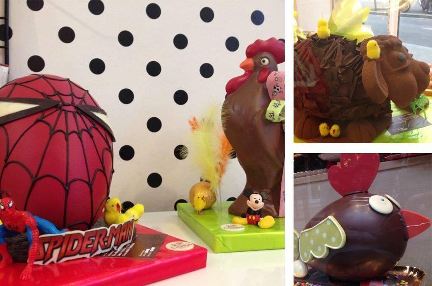 Mona de chocolate, Mona de Pascua