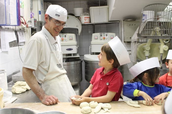 Talleres de pan para niños