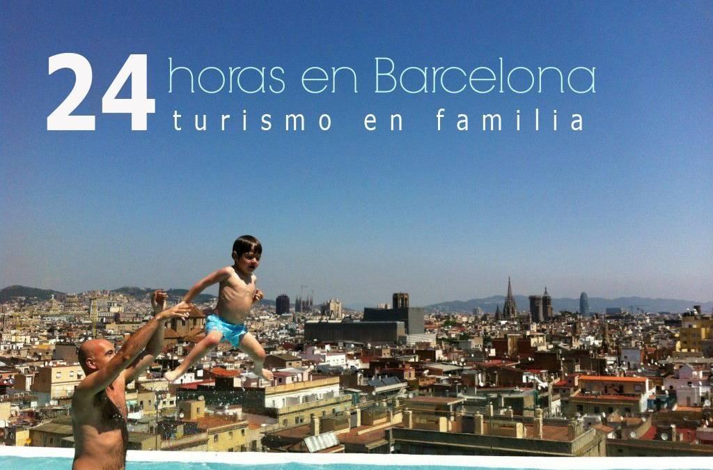 24 horas visitando Barcelona con niños