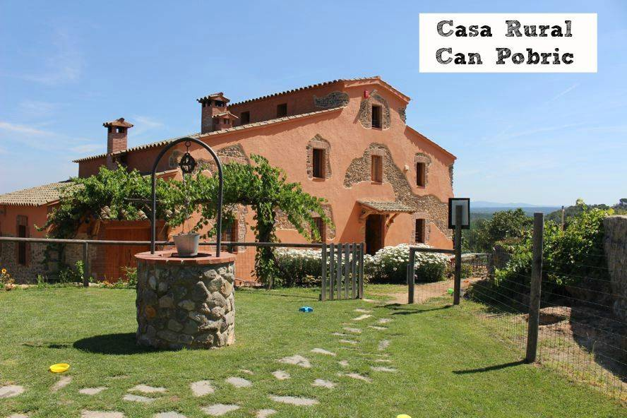 Casa rural Can Pobric, ideal para familias
