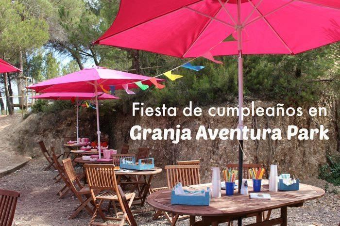 Fiesta de cumpleaños en Granja Aventura Park