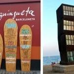 Dos paseos con niños por las playas de la Barceloneta