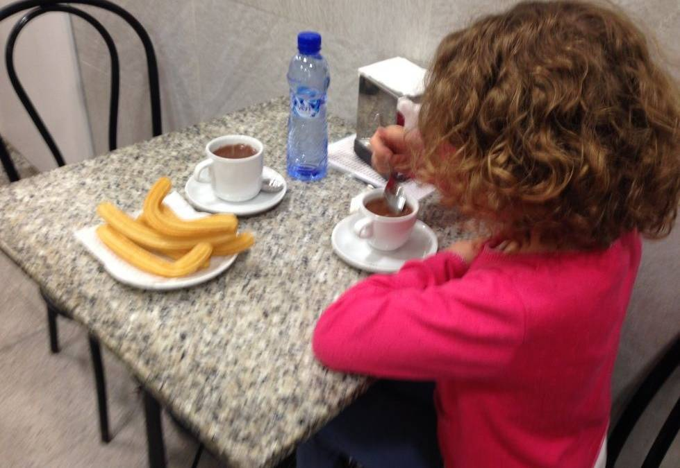 Chocolate con Churros en Sant Andreu