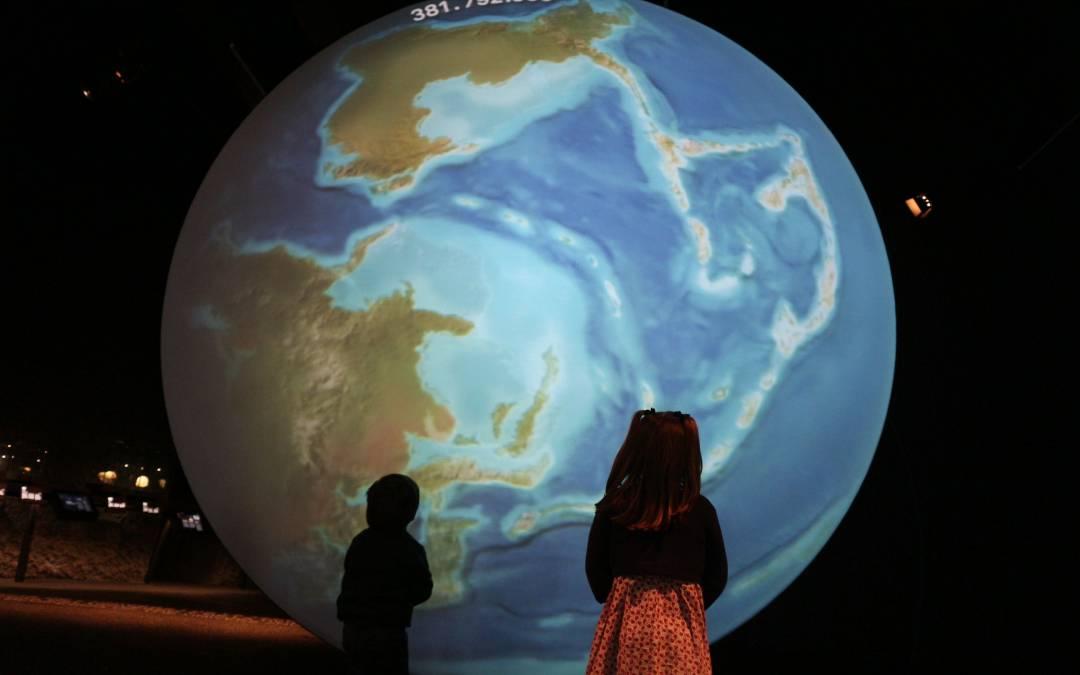 Visita con niños al Museu Blau