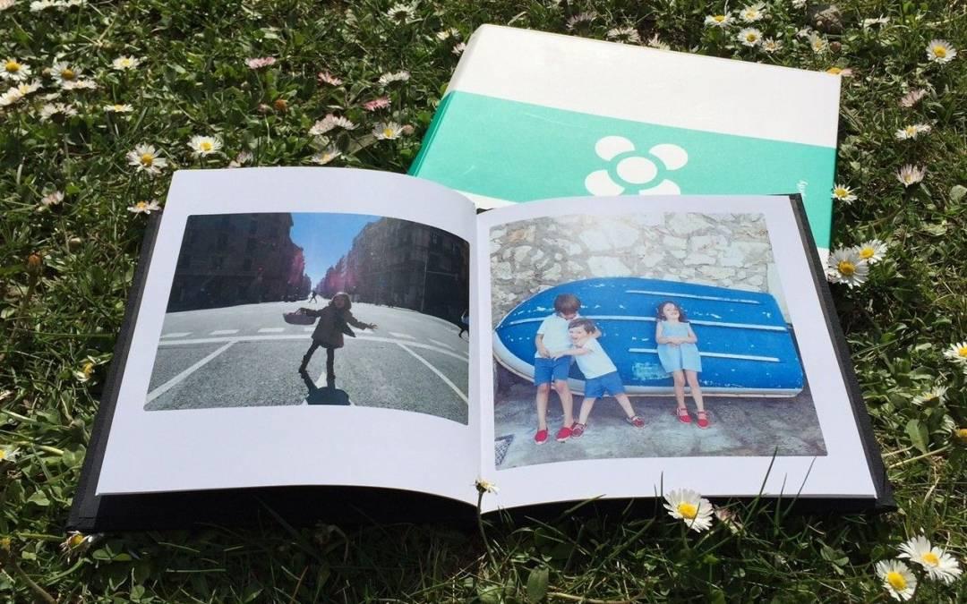 Álbum de fotos Imprify, un regalo para el día de la madre