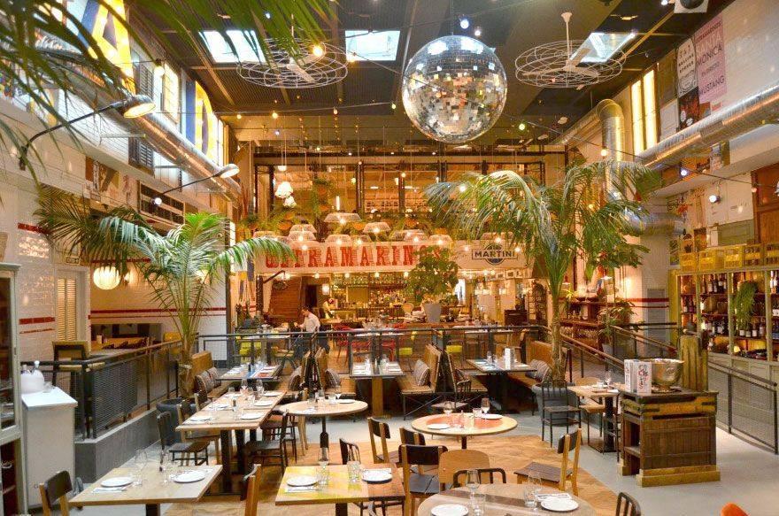 Restaurante Ultramarinos, al final de las Ramblas