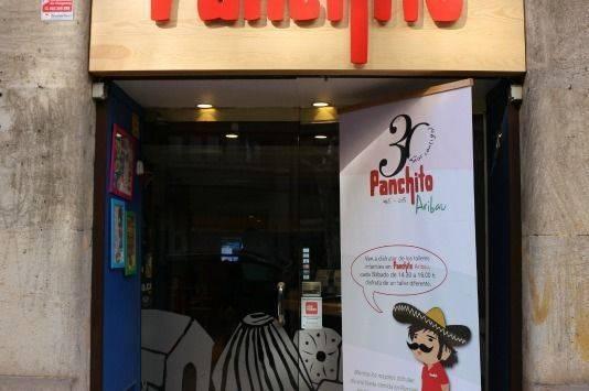 Restaurante mejicano Panchito con niños