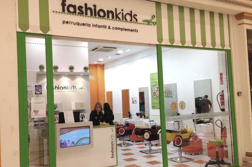 fashionkids peluqueria infantil barcelona