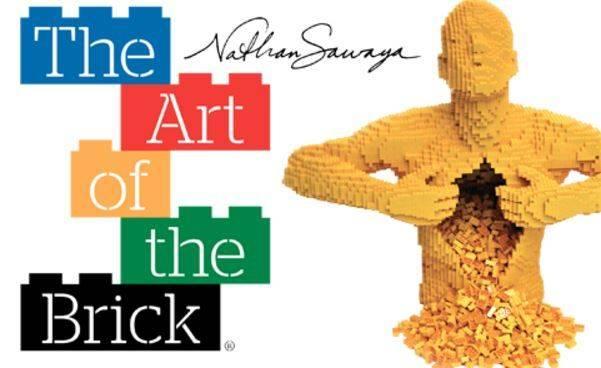 Exposición The Art of the Brick en Barcelona