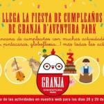 Granja d'Aventura Park cumple 3 años