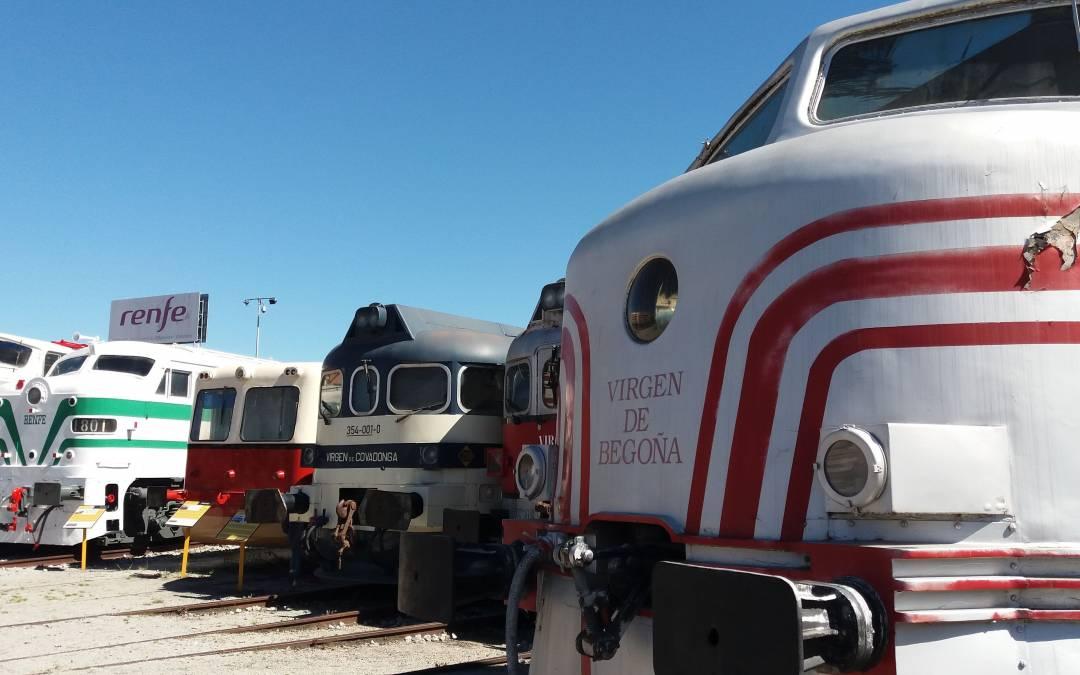 Visita al Museu del Ferrocarril de Catalunya