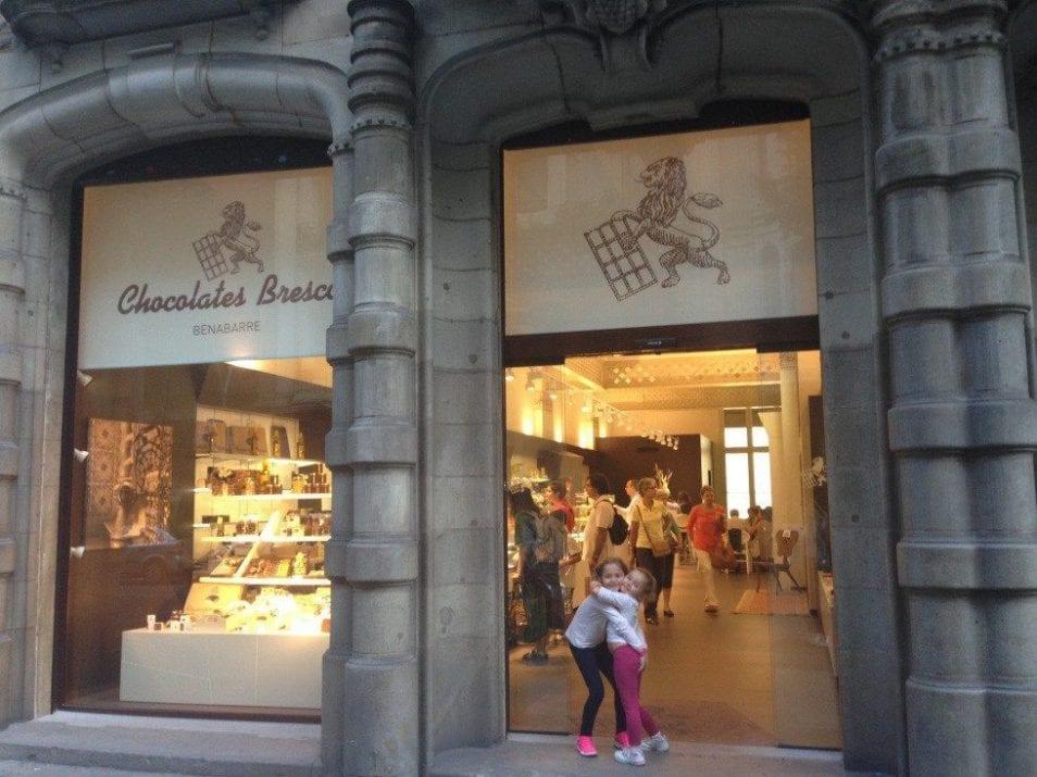 chocolate con churros Barcelona | merendar con niños
