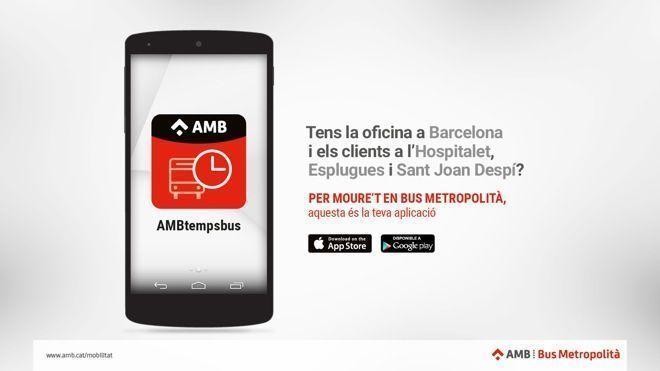 AMBtempsbus, la nova app del bus de Barcelona