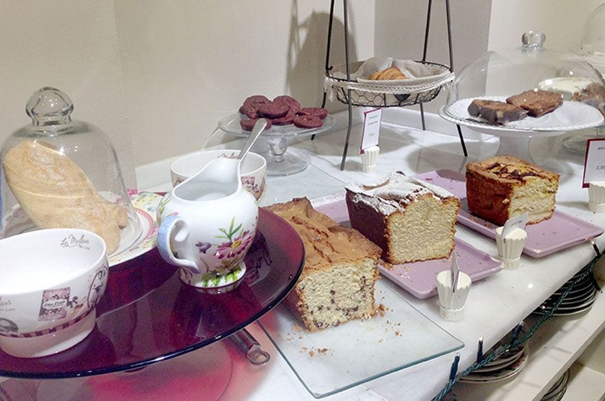 Buvette, pastisseria i saló de té