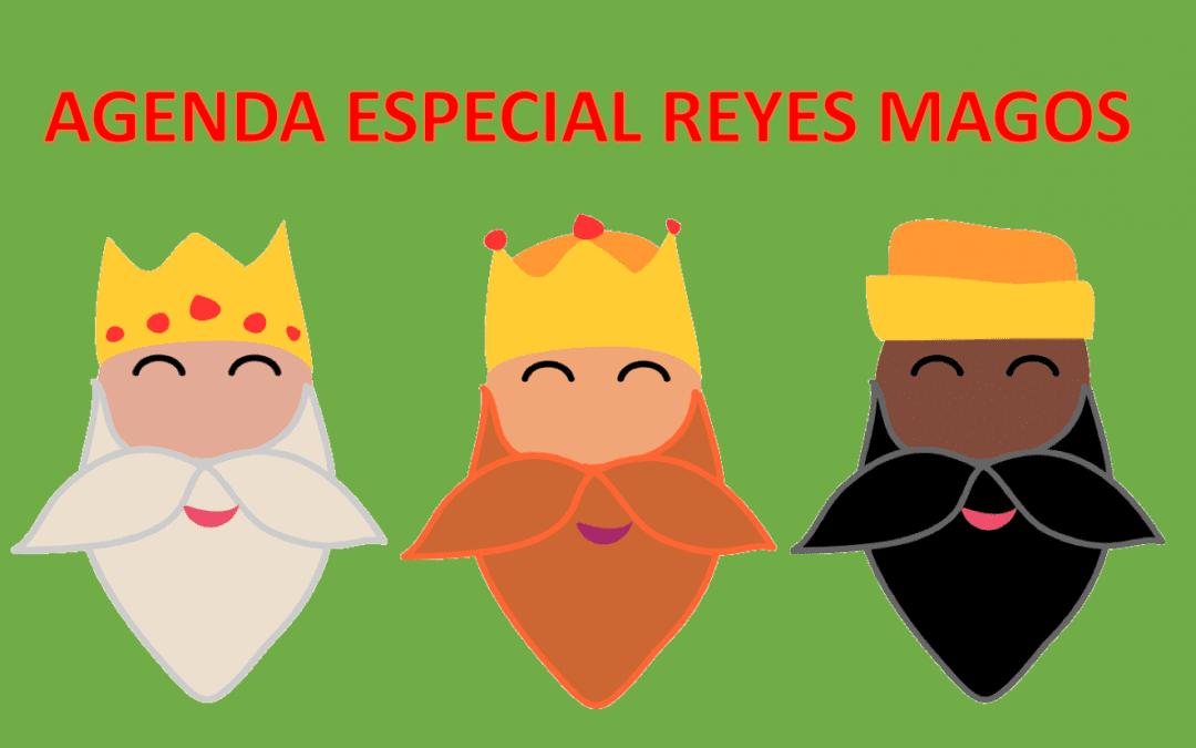 AGENDA ENERO Y ESPECIAL CABALGATA REYES MAGOS
