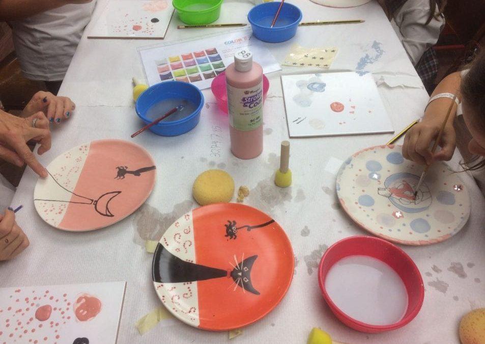 COLOR IT, cerámica para niños