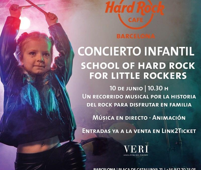 SORTEO CONCIERTO INFANTIL EN HARD ROCK CAFÉ