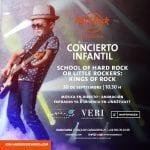 CONCIERTO DE ROCK EN HARD ROCK CAFÉ. SORTEO