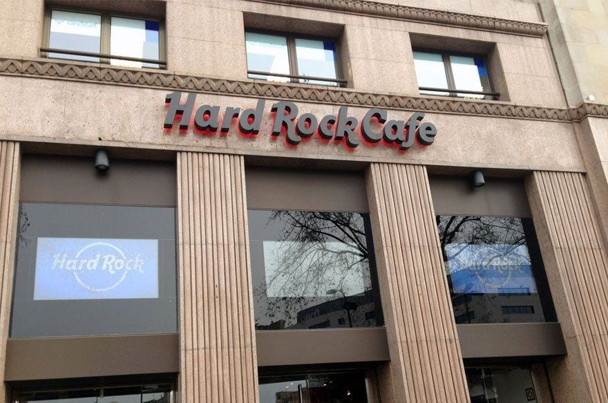clayrocks! Hard Rock Cafe Barcelona