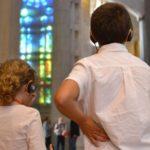 Visita infantil a la Sagrada Família