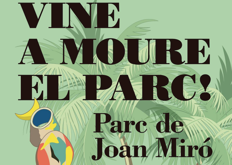 Joan Miro, El parque de la tirolina