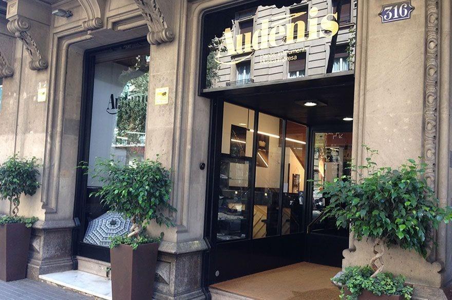 Audenis tienda de música barcelona