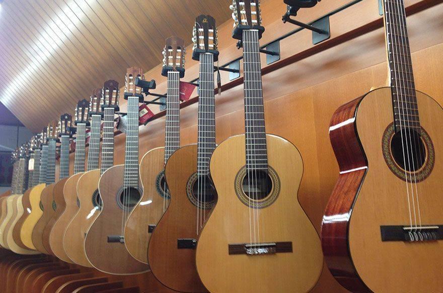 Audenis, una tienda especializada en instrumentos musicales