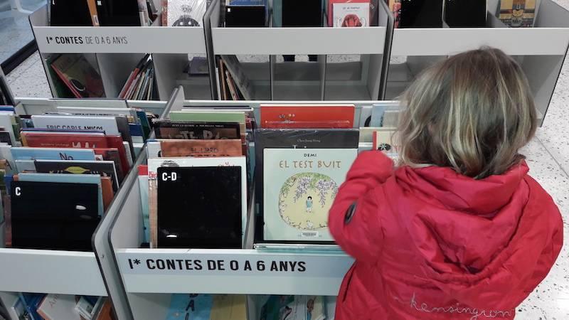 Biblioteca Montserrat Abelló, perfecta para niños