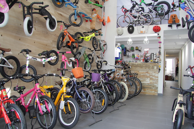 Kids on wheels, bicicletas para niños