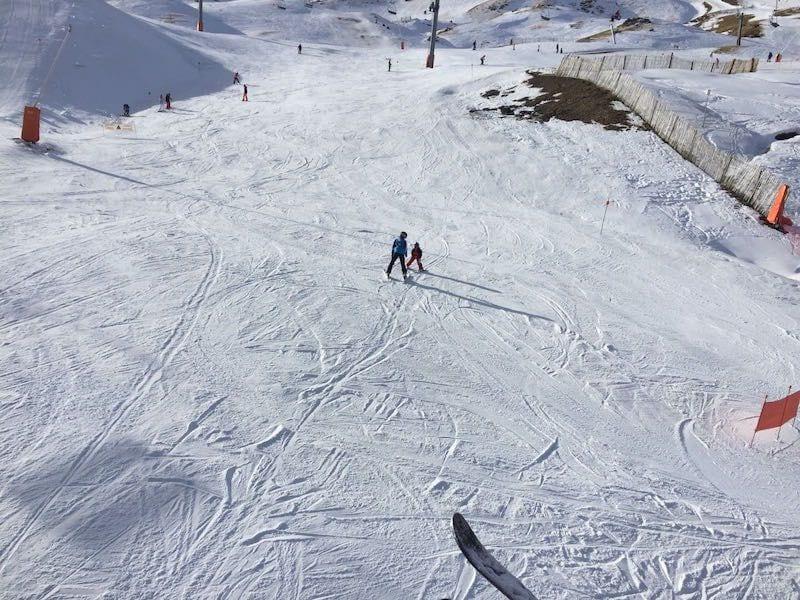 esquí con niños en Boi Taull