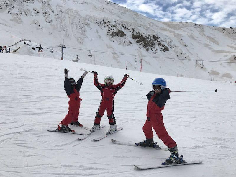 Esquiar con niños en Boí Taüll