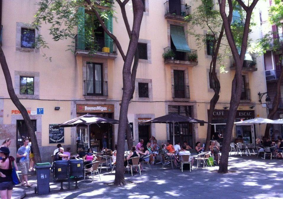 Buenas Migas in the Gothic Quarter