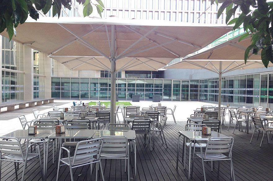 La cafetería de la ONCE, un sitio perfecto para ir con niños