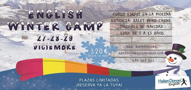 ENGLISH WINTER CAMP EN LA MOLINA